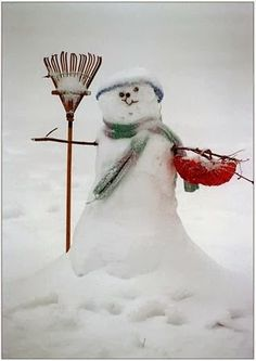 Snow Day - snowman
