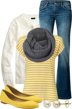 Normally I'm not into yellow, but this is cute