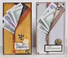 Открытка 23 февраля 8 марта День рождения Открытка-конверт фото 1