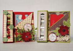 Hershey's Nuggets Gift Card Holder...this young lady is talented  Geraldine Audrade