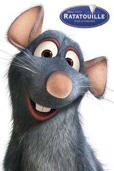 """Remy, o ratinho cozinheiro de """"Ratatouille""""."""