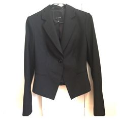 Blazer Black blazer from The Limited. Worn once for an interview years ago and haven't worn since. Good condition The Limited Jackets & Coats Blazers