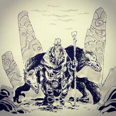 #inktober day 1: shaman king #Inktober2GO by ullikummi