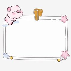 Cute hand drawn cartoon pig photo frame label png and psd file Background For Powerpoint Presentation, Background Powerpoint, Bg Design, Photo Frame Design, Theme Background, Background Pictures, Wallpaper Iphone Cute, Cute Wallpapers, Little Girl Illustrations