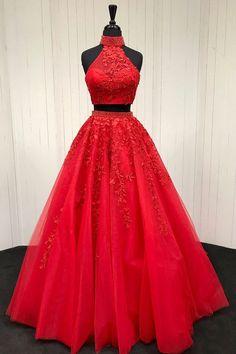 Vestidos de quince rojos cortos