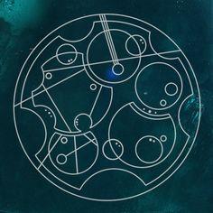 Carry On My Wayward Son in circular Gallifreyan. -- Everything looks better in circular Gallifreyan.