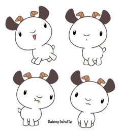 Chibi Goat by Daieny.deviantart.com on @DeviantArt