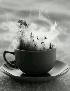 Eine Tasse heißen Tee  gefälligst ?