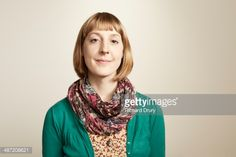 Stock Photo : Portrait of young woman smiling