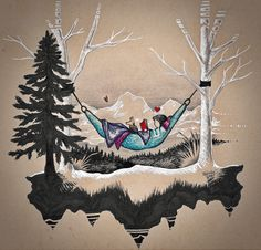 When you love hammocks but you live in Alaska and its cold outside. 😋  Hammocks are one of my inspirational places, I love to swing in them and think, listen to music or audio books, and/or read.  Since Alaska summers are short, during the fall I will bundle up in a sweatshirt and blankets in order to sit in my hammock. Toffy my dog is a min pin so I make her wear a sweater to.   Also I would like to point out that I do not EVER wear both earbuds in at the same time because we have moose.
