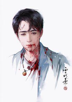 The Guardians Film, Shen Wei, Boy Illustration, Asian Love, Handsome Anime, Human Art, Boy Art, Pretty Art, Cartoon Drawings