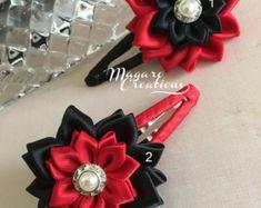 Hair accessorieskanzashisnap clipsgirl snap by MagaroCreations