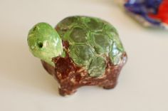 Sunnyside Art House - pinch pot turtle