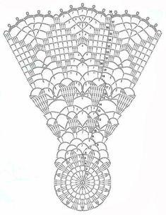 Rosette in White crochet doily diagram Crochet Doily Diagram, Crochet Mandala, Crochet Stitches Patterns, Crochet Chart, Thread Crochet, Filet Crochet, Crochet Motif, Crochet Designs, Crochet Flowers