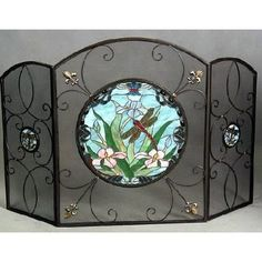 Fireplace Screen Beauty -- Yes, Screens Can Be More Than Functional...