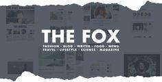The Fox Publishings Wordpress Template, Wordpress Theme, Mobile Logo, 21st Century Fox, Science Magazine, Ecommerce Shop, New Travel, Modern, Blog
