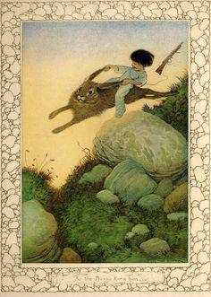 So the Bunny knew him - Billy Popgun, 1912