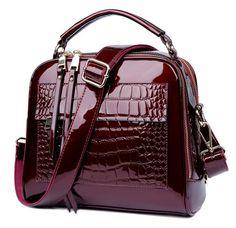 MORESHINE marca mulheres Reais bolsas de couro de Crocodilo design de Moda tote shopper saco de luxo sacos de ombro do Sexo Feminino em Bolsas de Ombro de Bagagem & Bags no AliExpress.com   Alibaba Group