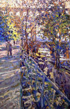 April, Pont du Gard by Arthur Maderson
