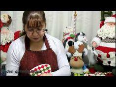papa noel bigoton parte 2 - YouTube Celebrity Moms, Felt Ornaments, Xmas, Christmas, Wool Felt, Barbie, Dolls, Youtube, Crafts
