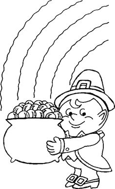 find this pin and more on coloring pages leprechaun coloring pages