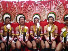 FESTIVAL DE HORNBILL EN KOHIMA, CAPITAL DEL ESTADO DE NAGALAND, INDIA ||| EL FESTIVAL DURA LOS 10 PRIMEROS DIAS DE DICIEMBRE -Hornbill Festival, Nagaland