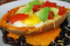 Sweet Potato Boats