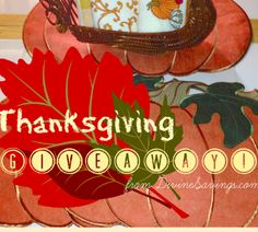 Win a Fall Table Setting   http://www.divinesavings.com/enter-win-thanksgiving-table-setting-prize-value-75-00/