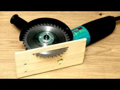 Awesome idea with Angle Grinder! Creative ideas, useful tips . Carpentry Tools, Woodworking Hand Tools, Woodworking Techniques, Woodworking Projects Diy, Woodworking Plans, Cool Tools, Diy Tools, Cierra Circular, Angle Grinder Stand