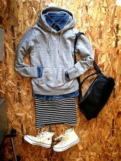 Fall 2017 Fashion Trends – The Aggie – Fashion Outfits Japan Fashion, Daily Fashion, Love Fashion, Korean Fashion, Spring Fashion, Winter Fashion, Fashion Design, Fall Outfits, Casual Outfits