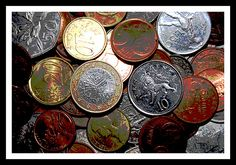 coins. I'm collecting coins and you...?