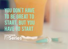 You don't have to be great to start, but you have to start. #NewYearNewYou