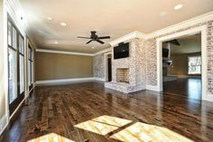 Ranch to Rustic - traditional - Living Room - Other Metro - Benham Builders