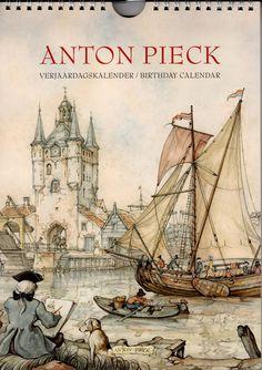 Anton Pieck Birthday Calendar