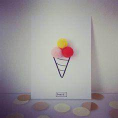 Te bestellen bij #fetedeconfetti  #uitnodiging #kinderfeestje Sun Catchers, Valentines Day For Him, Water Balloons, Malu, More Fun, Activities For Kids, Birthday Gifts, Card Making, Pom Poms