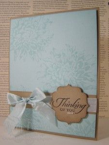 Blooming with Kindness and Wetlands sets, All Occasions Card, Jenny Peterson, Stampin' Up! Demonstrator