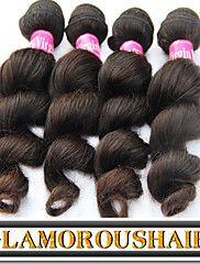"3Pcs/Lot 8""-34"" Vietnamese Virgin Remy Hair Natural Black Color Loos... – USD $ 110.43"