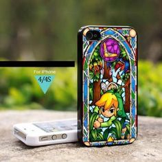 IS0042 The Legend of Zelda The Wind Waker - For iPhone 4 Case, Hard Cover