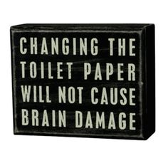 hahaha... i need this for my bathrooms!