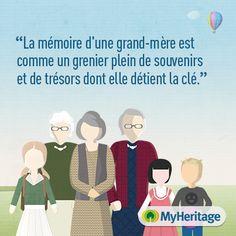 Incroyable comme les petits-enfants aiment notre mémoire! C'est trans-générationel....