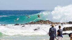 Free Fall at Snapper Rocks. #nikonaustralia  #snapperrocks  #goldcoastlife  #beachlife #goldcoastsurfing  #goldcoastworldsurfingreserve by myperspectives_photography
