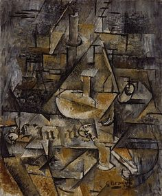 Braque, Georges, (1882-1963), Le Bougeoir, 1911, Oil