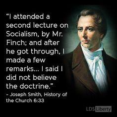 Joseph Smith on Socialism