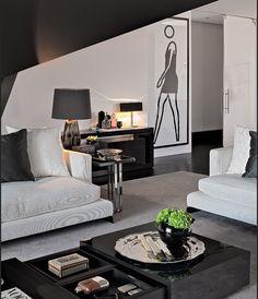 Cascais House - Casa do Passadiço #moderndesign #interiordesign #livingroomdesign luxury homes, modern interior design, interior design inspiration . Visit www.memoir.pt