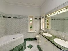 Bathroom Ideas Corner Bath modern bathroom design with corner bath using tiles - bathroom
