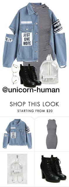 """""""Untitled #3032"""" by unicorn-human on Polyvore featuring River Island and Forever 21"""