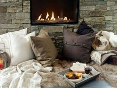 Treats by the fire #Winter