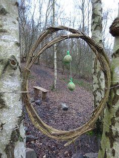 Land Art, Outdoor Crafts, Outdoor Decor, Hidden Garden, Forest School, Sticks And Stones, Garden Structures, Camping Life, Amazing Gardens