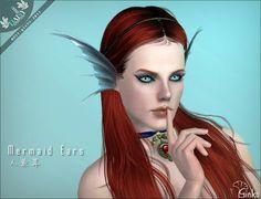 Mermaid Ears and Dragon Horns by Ginko