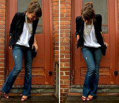 Business casual jeans